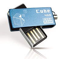 Флеш-память 4GB USB GOODRAM Cube Blue RETAIL