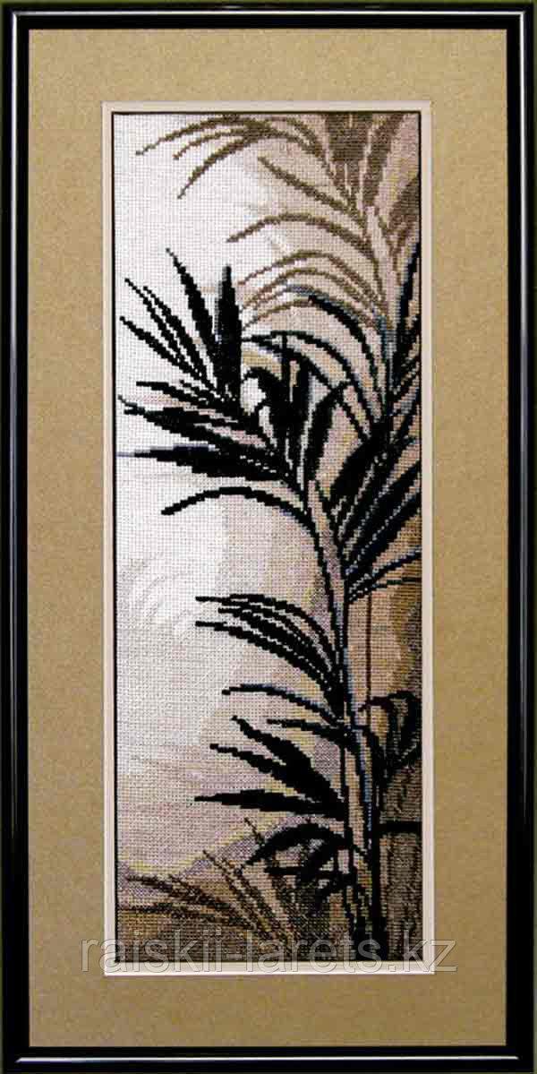 """Набор для вышивания крестиком """"Триптих Пальмовые листья"""" 438"""