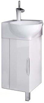 """""""Рио"""" тумба угловая с умывальником, в ванную комнату"""