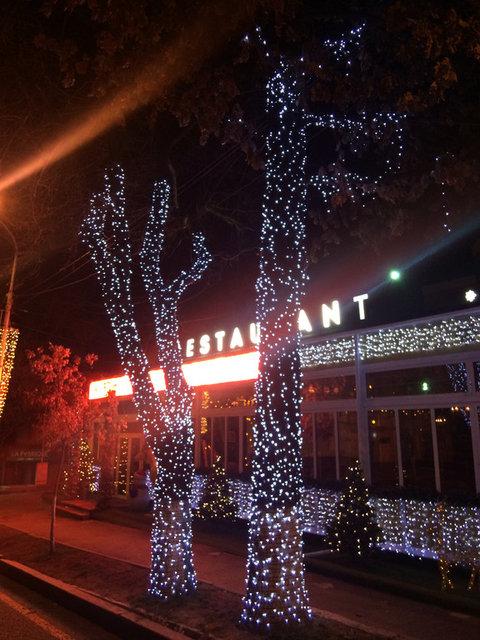Новогоднее оформление Алматы -1