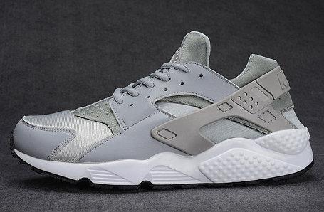 Кроссовки Nike Air Huarache серебро, фото 2
