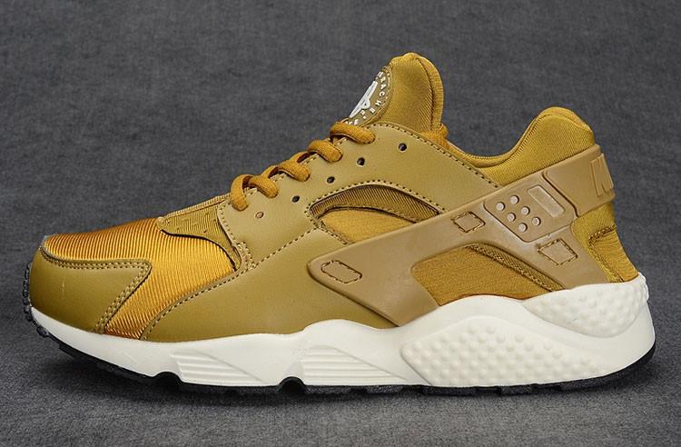 Кроссовки Nike Air Huarache золото