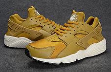 Кроссовки Nike Air Huarache золото, фото 3