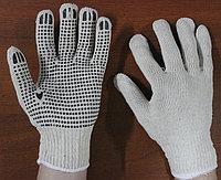 Перчатки трикотажные кругловязаные с ПВХ покрытием, Рабочие перчатки оптом, Перчатки рабочие