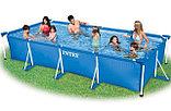 Каркасный бассейн Intex  450 см. х 220 см. х 84 см., фото 3