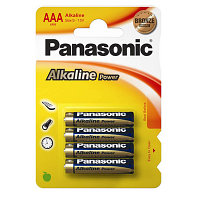 Panasonic - 4BP тип ААА Alkaline Power