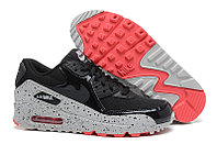 Кроссовки Nike Air Max 90 Essential Black gray Red (36-46)