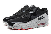 Кроссовки Nike Air Max 90 Essential Black gray Red (36-46), фото 2