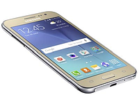 "Смартфон Samsung Galaxy J2 (SM-J200H) Android 5.0, Quad-core-1.3GHz/8GB/4.7""/WiFi/BT/Dual SIM, gold"
