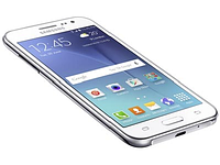 "Смартфон Samsung Galaxy J2 (SM-J200H) Android 5.0, Quad-core-1.3GHz/8GB/4.7""/WiFi/BT/Dual SIM, white"