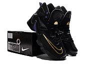Кроссовки Nike LeBron XIII (13) Gold Purple Black (36-47), фото 5