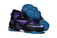 "Кроссовки Nike LeBron XIII (13) ""Purple Blue Black"", 45 размер"