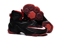 Кроссовки Nike LeBron XIII (13) Black Red White, 45 размер
