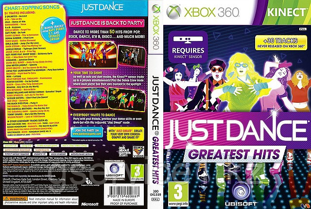 Just Dance Greatest Hits   - ИП «GService» в Алматы