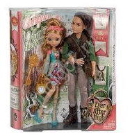 Куклы Ever After High Ashlynn Ella & Hunter Huntsman Doll, Эшлин и Хантер