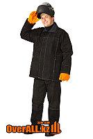 Спилковый огнеупорный костюм сварщика, фото 1
