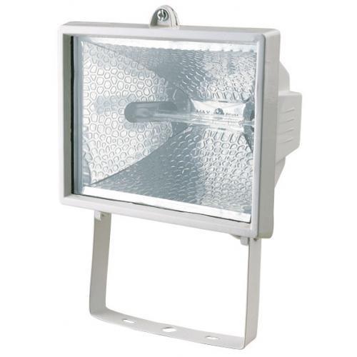 Прожектор ИО1500 галогенный белый/черный IP54