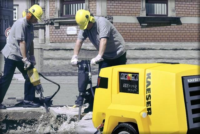 Услуги дорожного компрессора