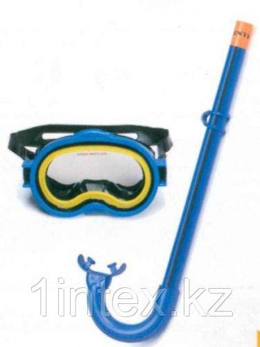 Набор маска с трубкой Adventurer для детей 3-10 лет Intex