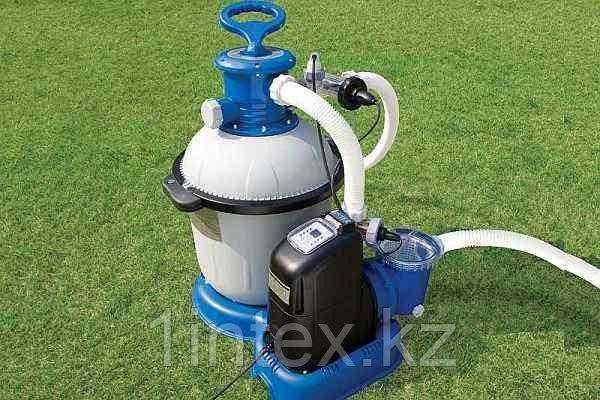 Песочный фильтр-насос + хлорогенератор 220В, 10000 л/ч