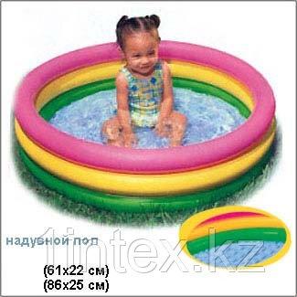 Надувной детский бассейн Intex (61х22 см.)