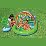 Водный игровой центр-бассейн Лужайка intex, фото 2