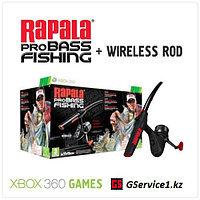 Rapala pro Bass Fishing Game & Rod (Xbox 360)
