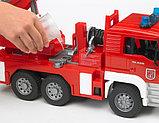 Пожарная машина MAN с лестницей и помпой Bruder (Брудер) (Арт. 02-771, 02771), фото 4