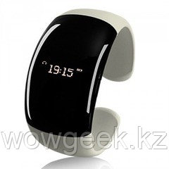 "Женский Bluetooth-браслет с часами ""White Pearl"""