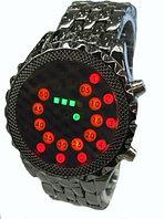 Оригинальные часы Black Mirror (металлический браслет), фото 1
