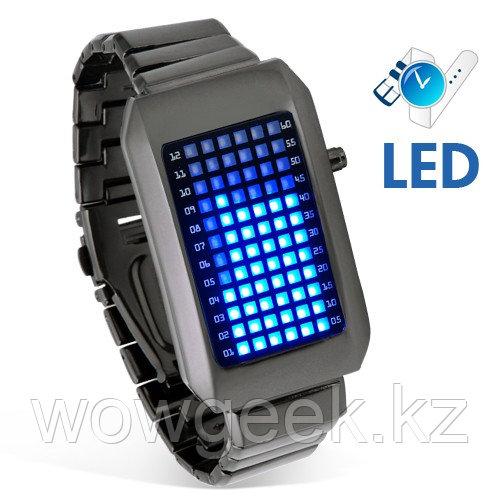 Светодиодные гаджет часы - Zero Kelvin (унисекс)