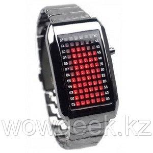 Светодиодные гаджет часы - Zero Kelvin Red