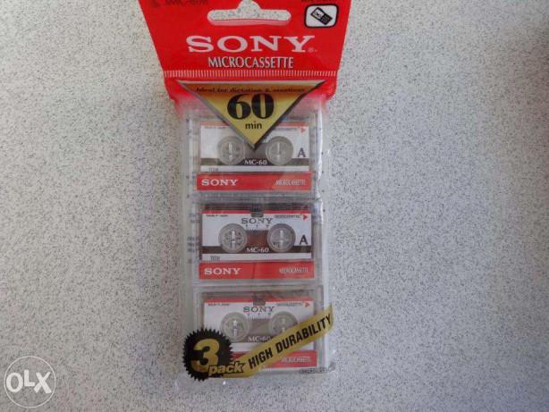 Кассета SONY MK60 микро для диктофона и автоотвечика
