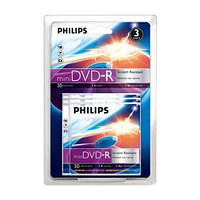 Диск mini DVD-R, Philips,8 см