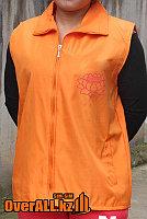 Оранжевые безрукавки, пошив на заказ., фото 1