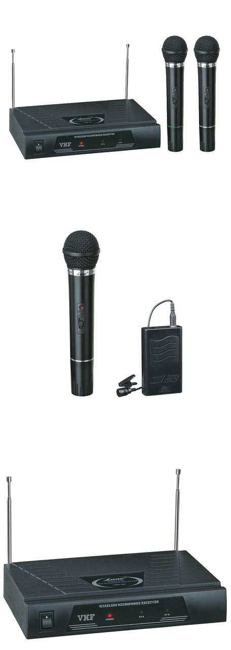 Микрофон профессиональный LANE LWM-328 беспроводные 2 шт