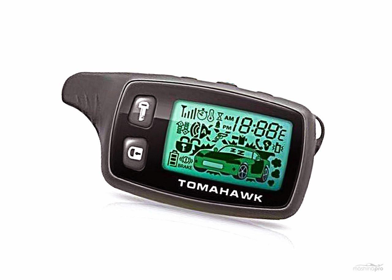 Пульт  для сигнализации Tomagawk  9010