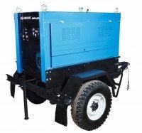 Передвижной сварочный агрегат АДД-4004 П+ВГ (воздушное охлаждение)