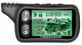 Брелок для автосигнализаций Tomahawk TZ-9030 (подходит к TW-9020, TW-7010, LR1010LC, TZ-7010, TZ-9020, TW-9030