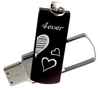 Флеш-память 4GB USB GOODRAM Zip Black RETAIL Valentine