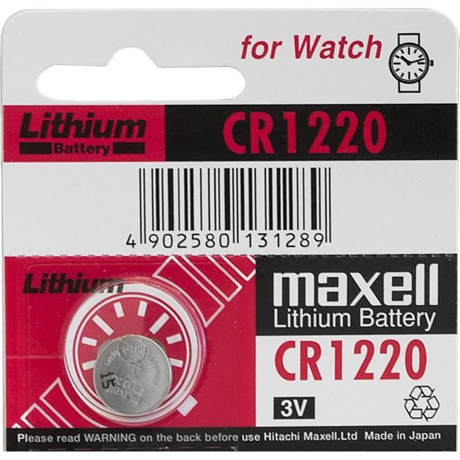 Maxell CR1220      3v