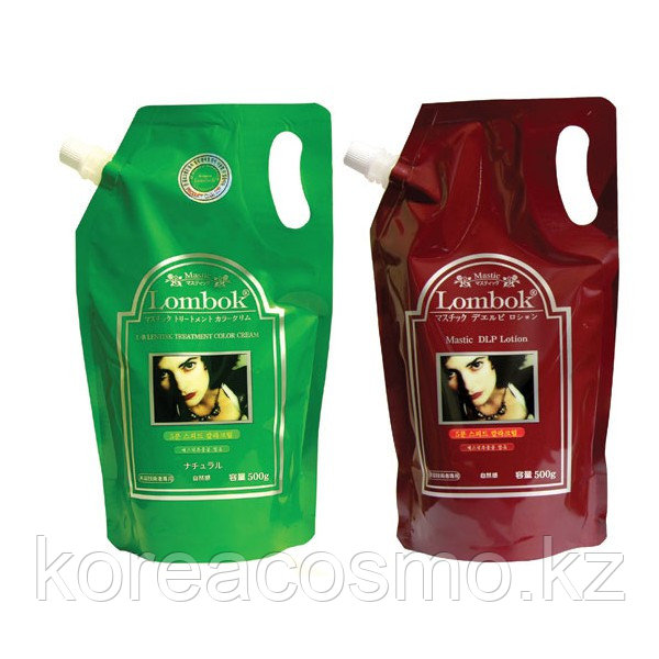 LOMBOK Mastic Treatment Color Cream Hair Dyeing #5minutes speed 500ml+500ml