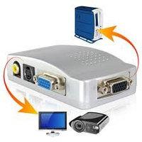 Конвертер  VGAвход-выход VGA,S-video,RCA video/VGA to video/, фото 1