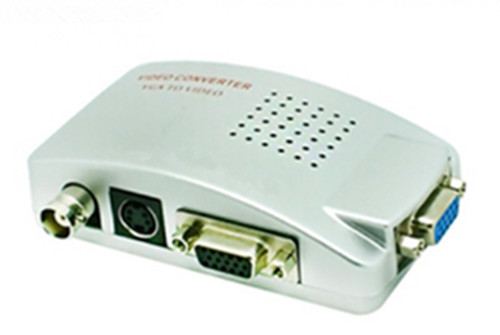 Конвертер VGA to BNC RCA TV S-Video converter