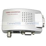Конвертер VGA to BNC RCA TV S-Video converter, фото 2