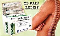 Ортопедический пластырь ZB Pain Relief Orthopedic  Plaster - лечение позвоночника, 5 шт