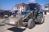 Услуги Трактора-погрузчика Щетки (метелки) на базе МТЗ, фото 1