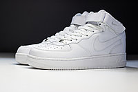 Кроссовки Nike Air Force 1 Mid white, фото 1