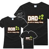 Семейные футболки креативный подарок, фото 2