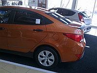 Козырек на заднее стекло Hyundai Accent (Solaris) 2010+, фото 1